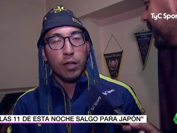 Un japonés viaja de Tokio a Buenos Aires para ver el Boca - River y se tiene que volver a casa tras aplazarse el partido