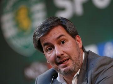 Bruno de Carvalho, expresidente del Sporting de Portugal