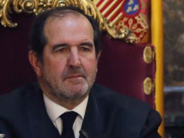 El magistrado Andrés Martínez Arrieta