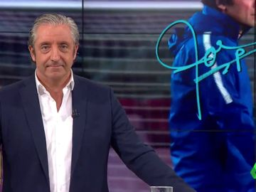 """Josep Pedrerol: """"Conte, no es que tú no te subas a un tren en marcha. Lo que ocurre es que el tren sólo lo has visto de lejos"""""""