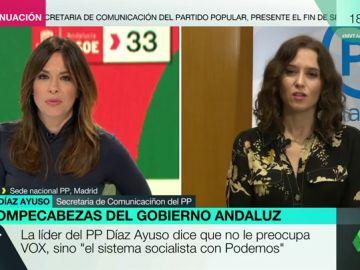 """Isabel Díaz Ayuso, secretaria de Comunicación del PP: """"Hay cosas más extremas que el hecho de que Vox entre en las instituciones"""""""