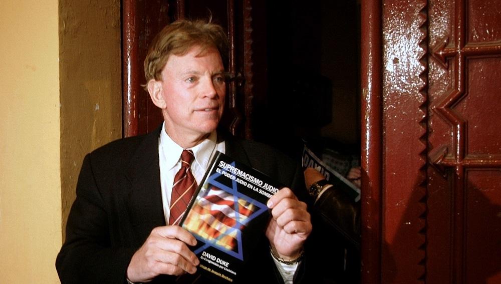 David Duke, exlíder del Ku Klux Klan