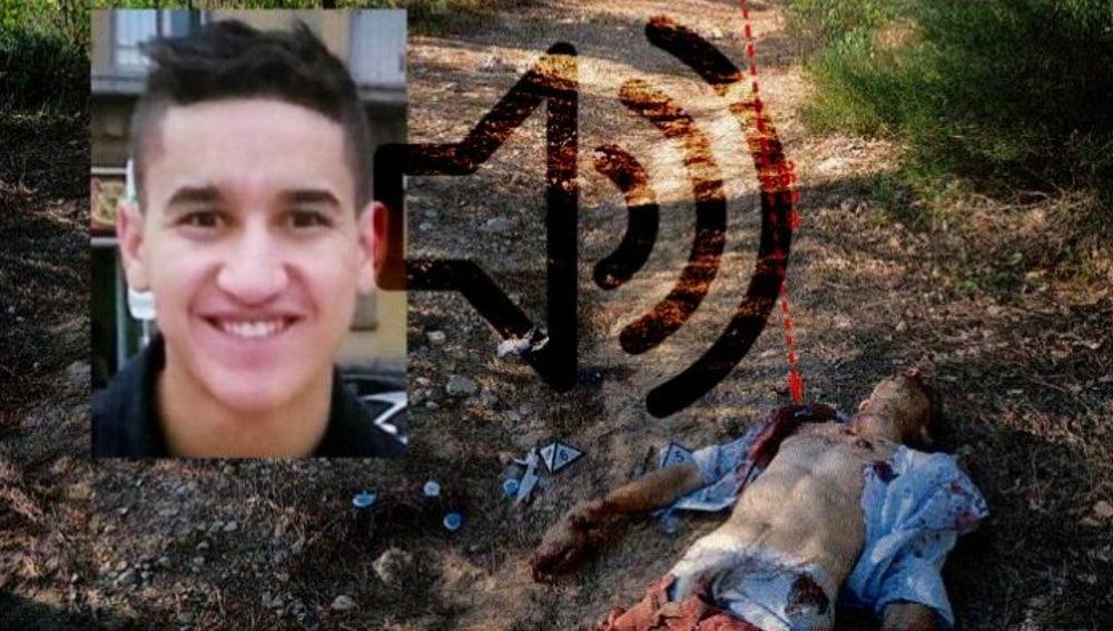 El terrorista abatido tras los disparos de los Mossos