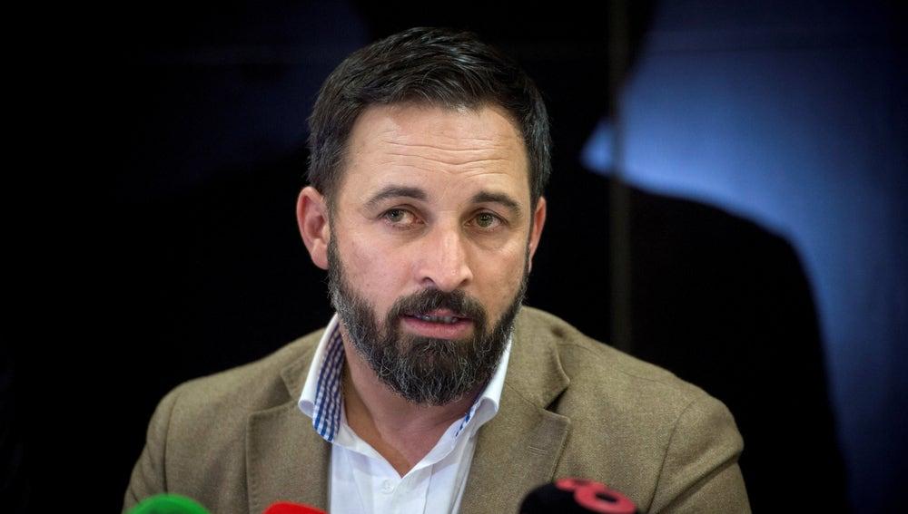 Santiago Abascal, presidente de VOX