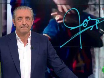 """Josep Pedrerol: """"Justo ayer, en la despedida de Núñez, se daba la bienvenida a Riqui Puig, el canterano que más ilusiona a los culés ahora mismo"""""""