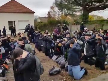 Francia investigará el arresto masivo de jóvenes implicados en las protestas estudiantiles