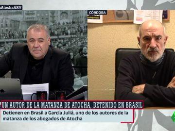 Alejandro Ruiz-Huerta, superviviente de la matanza de Atocha, cuenta cómo reaccionó tras conocer la detención de García Juliá