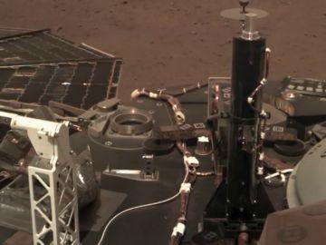 El InSight logra captar el sonido de Marte por primera vez