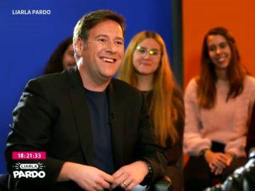 """Esperanza Aguirre """"es un poco serpiente"""", Ferreras es """"como muy oso"""", Zapatero """"era como un pingüino""""... Carlos Latre compara a los personajes públicos con animales"""