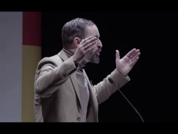 Santiago Abascal durante un año electoral
