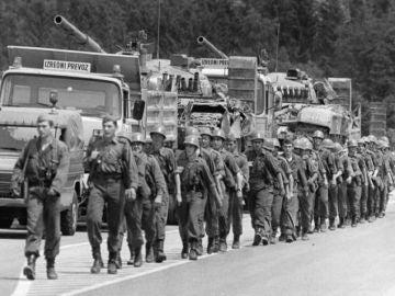 Eslovenia se independizó de Yugoslavia en 1991, después de la Guerra de los Diez Días