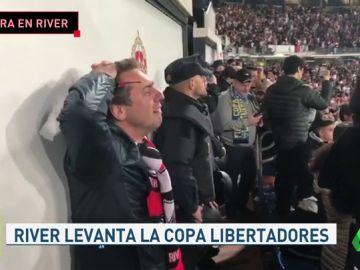 Locura con la victoria de River en la final de la Libertadores contra Boca