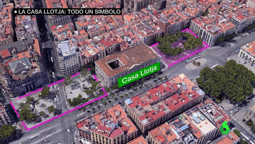 El Consejo de Ministros de Barcelona se celebrará en la Casa Llotja de Mar