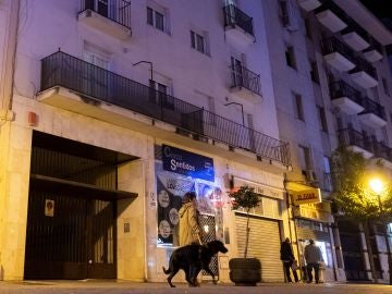 Edificio de la Calle Marina de Huelva.