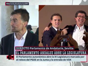 """Antonio Maíllo: """"Las corrientes subterráneas de la derecha franquista y autoritaria han emergido, estaban en PP y Ciudadanos"""""""