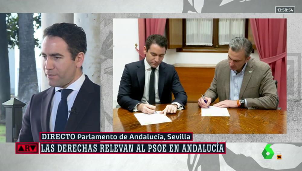 """García Egea: """"Siempre que podamos conseguir que la izquierda no gobierne, intentaremos entendernos con Ciudadanos y Vox"""""""