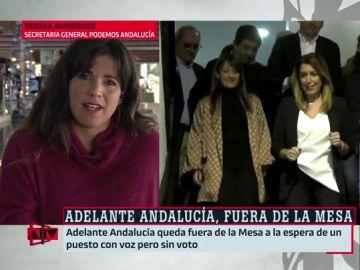 """Teresa Rodríguez, sobre la intención del PSOE de presentarse a la investidura: """"La señora Díaz vive en una realidad paralela"""""""