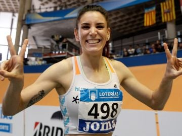 Imagen de archivo de la atleta Laura Bueno