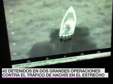 Operativo de la Guardia Civil contra el tráfico de hachís