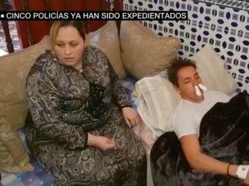 Madre del menor apaleado por varios policías en Melilla