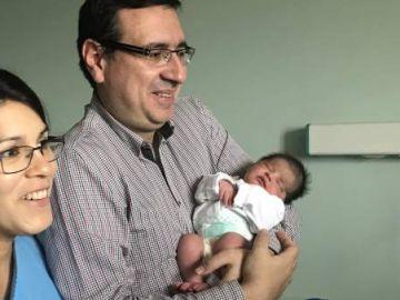 Carolina María, el primer bebé de 2019