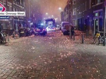 Lluvia de fuego en La Haya