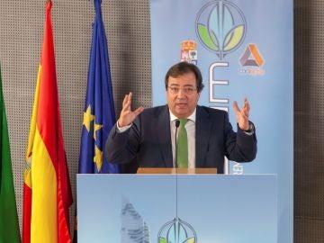 El presidente de la Junta de Extremadura, Guillermo Fernández Vara.