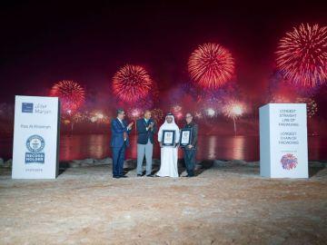 El emirato de Ras Al Khaimah recibe dos récord Guinness.