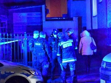 Servicios de Emergencias en el lugar de la tragedia