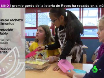: así es el taller Cómo como que mejor la alimentación infantil