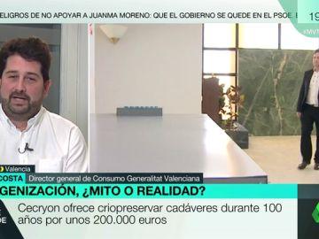 """Natxo Costa, sobre la oferta de criopreservación de una empresa en Valencia: """"No todo lo que no está prohibido está permitido"""""""