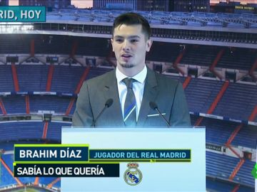 "Brahim Díaz, presentado: ""Sólo contemplé tres opciones: Real Madrid, Real Madrid o Real Madrid"""