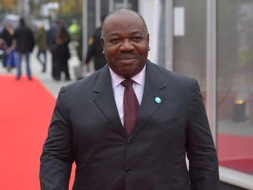 El presidente de Gabón, Ali Bong