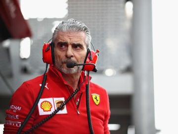 Maurizio Arrivabane, jefe de Ferrari