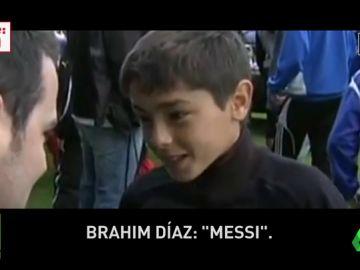 Exclusiva 'Jugones': el vídeo en el que Brahim Díaz muestra su amor por el Barcelona