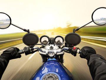 Imagen de archivo de una moto