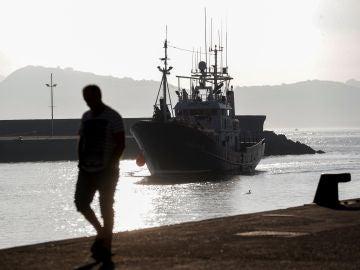 Imagen de arrchivo del barco de rescate humanitario 'Aita Mari'