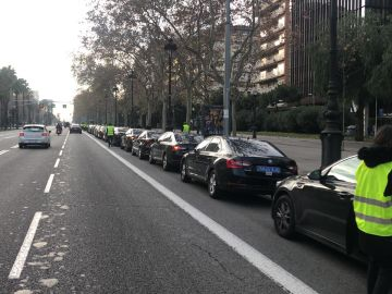 Vehículos VTC en Barcelona