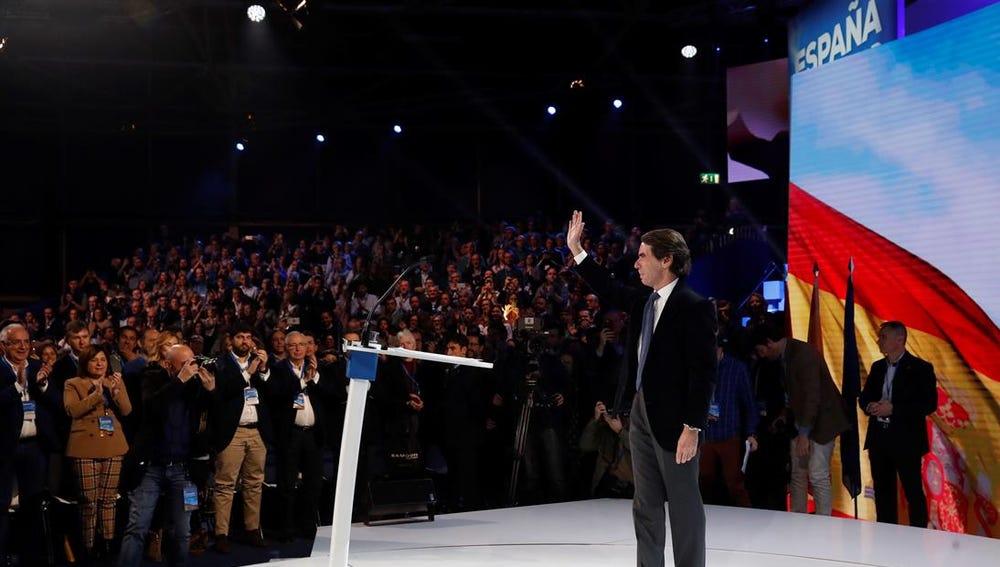 Aznar en la convención del PP