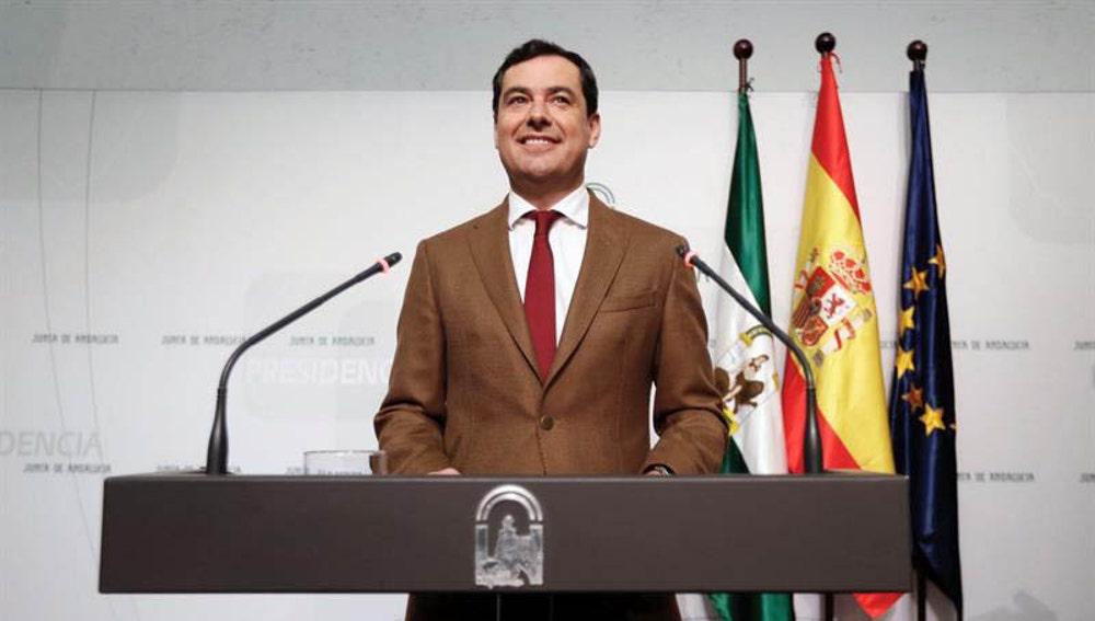 Juan Manuel Moreno Bonilla presenta su Gobierno