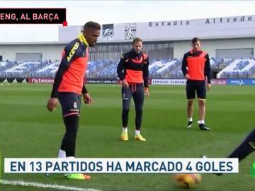 Kevin-Prince Boateng, a punto de llegar cedido al Barcelona