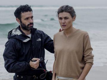 El director Rodrigo Sorogoyen durante el rodaje del cortometraje 'Madre'
