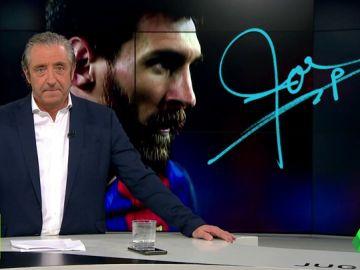 """Josep Pedrerol: """"Si Messi no está en perfectas condiciones a partir del mes que viene… adiós Champions para el Barça"""""""
