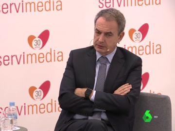 El expresidente Zapatero