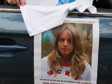 Imagen de un cartel de la búsqueda de Marta del Castillo