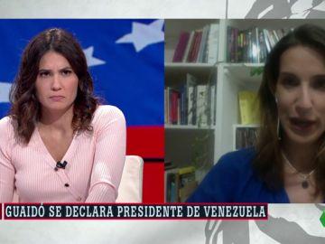 Alicia Hernández, corresponsal de laSexta en Caracas