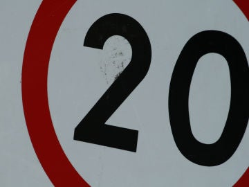 Señal de 20 km/h