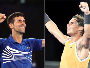 Novak Djokovic vs Rafa Nadal, final del Open de Australia