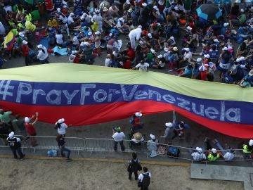 Manifestaciones en Venezuela.