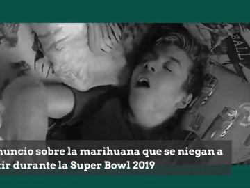 El duro anuncio sobre la marihuana que se niegan a emitir durante la Super Bowl 2019